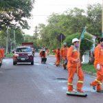La Banda: Limpieza y fumigación en barrios de la ciudad