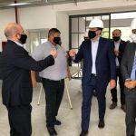 Pablo Mirolo acompañó la visita del ministro Nicolás Trotta a la ciudad de La Banda