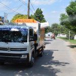 Calidad de Vida de la Capital desplegó fumigaciones en el barrio Almirante Brown