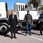 El gobierno de la provincia hizo entrega de vehículos a comunidades del interior